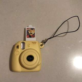 Instax mini 8 fujifilm yellow Keyring