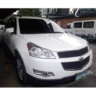 2012 Chevrolet Traverse 3.6L V6 White AT