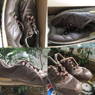 new balance 368 brown casual original