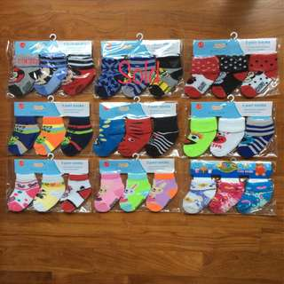 Cute Baby Socks (0-12 months)