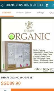 Newborn gift set(organic)
