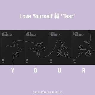 [Unsealed/Posters] BTS LY 轉 'Tear'