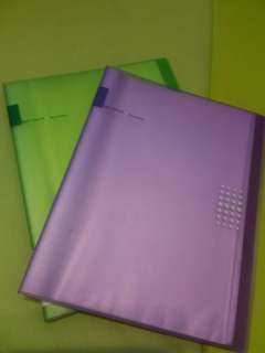 30 pockets clear book