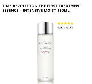 New-Missha Time Revolution The First Treatment Essence Intensive Moist 150ml