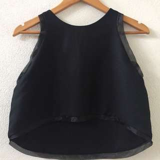 James Isara Diana Top in Black