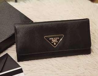 Prada wallet authentic