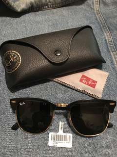 Authentic Ray Ban Club Masters