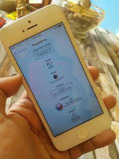 FS : iphone 5 FU 16gb