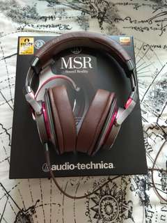 Priced to clear msr7 audio technica
