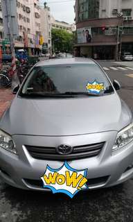 自售 豐田 toyota altis 1.8 J 經典款 2009年