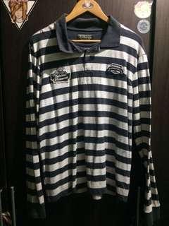 Longsleeve Polo Sweater Stripes