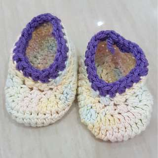 1 pair Crochet Booties