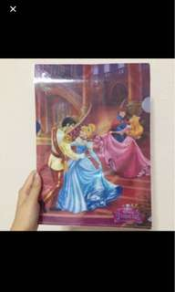 Disney Princess L Shaped File