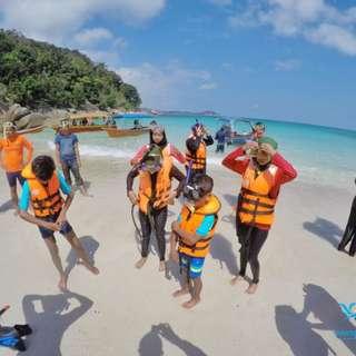 3D2N Snorkeling Package at Samudra Beach Chalet, Pulau Perhentian