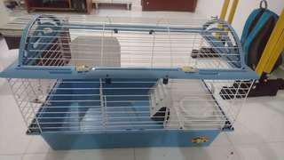 Small animals cage. 78cm (length) x 48cm (breadth) x 51cm (height). 2 sets available