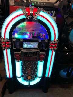 Retro Jukebox Life Size speaker audio player