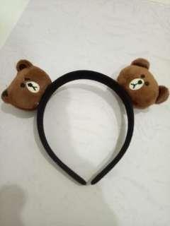 Conni brown hair band