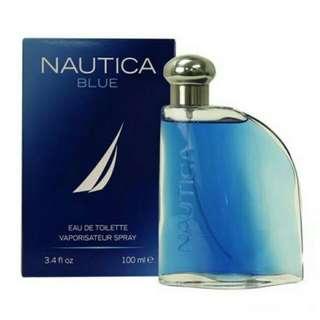 FREE SHIP Original/Authentic NAUTICA Perfume BLUE 100ml EDT FOR MEN