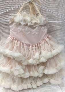 Size (2) doll cake dress