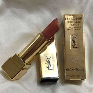 YSL Rouge Pur Couture The Mats 218
