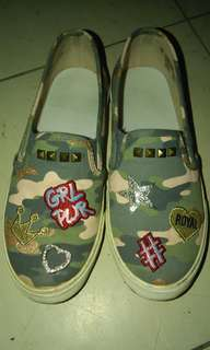 The Children's Place Camou Slipon with Patches for Kids