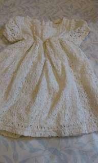 abma♡布蕾絲典雅洋裝布標90
