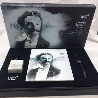 父親節巡禮 - Montblanc  Donation Pen Johann Strauss Special Edition Roller ball pen
