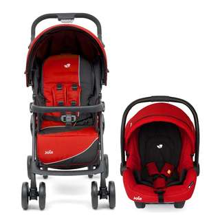 Joie Aire Step LX Travel System (Ladybird)