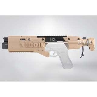 台南 武星級 ORION PRO GLOCK 衝鋒套件 沙 (機槍手槍烏茲BB槍瓦斯槍CO2槍克拉克 UZI M11 T77 G17