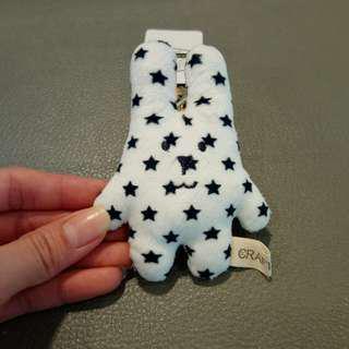 太空人星星兔吊飾
