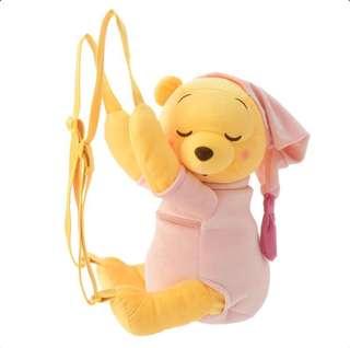 小熊維尼晚安造型背包