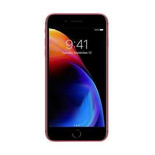 Kredit iPhone 8 Plus 64gb Red Edition Garansi International