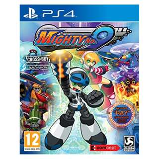 BRAND NEW PS4 Mighty No 9 ALL FREE DLC & Artbook & Poster PlayStation 4 Game CD Gaming Play Station