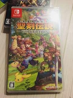 Switch game 聖劍傳說