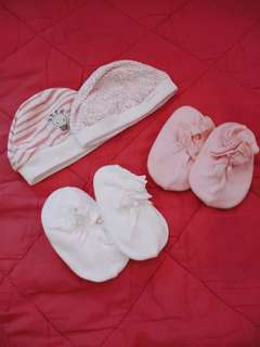 Baby booties/bonnets