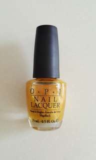 OPI That's All Bright With Me NLB48 (Green Label)