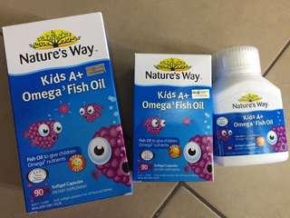 Kids omega 3 fish oil