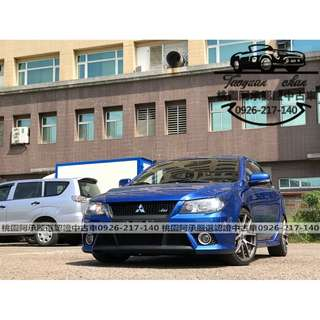 【FB搜尋桃園阿承】三菱 超人氣FORTIS IO 2010年 2.0 藍色 二手車 中古車