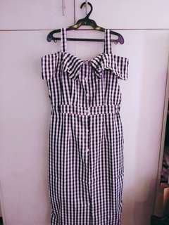 Gingham dress :)