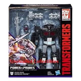[PO] Hasbro Transformers Power of the Primes POTP Leader Class - Nemesis Prime (Exclusive)