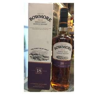 Bowmore 18 Years Old Islay Single Malt Scotch Whisky