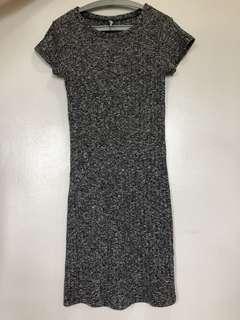 [COTTON ON] Grey knit mini dress extra small