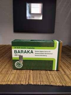 Baraka Black Seed Oil Capsules from Egypt