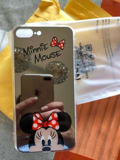 Mirror Micky & Minnie Mouse iPhone Case