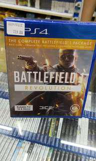 P4 battlefields 1 revulsion new and sealed free postage 0124140307 WhatsApp