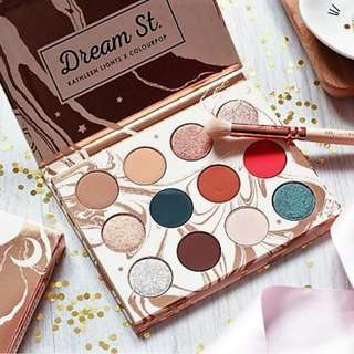 READY STOCK Dream St Eyeshadow Palette Dream Street