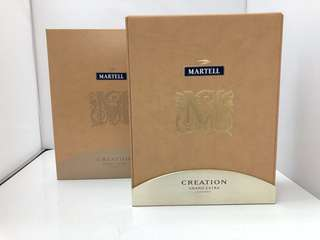 Martell Creation Grand Extra Cognac馬爹利干邑吉盒一個