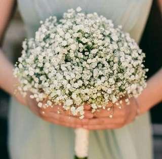 Fresh White Baby's Breath Bouquet