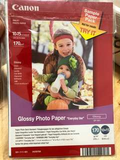 Canon Glossy Photo Paper 相紙