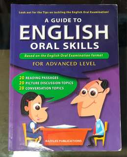 A guide to English oral skills(advanced)